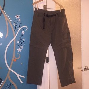 NWOT men's North Face Expedition pants/shorts